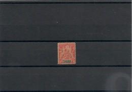 NOUVELLE CALÉDONIE Année 1892  N°Y/T : 51**côte: 90,00 € - Unused Stamps