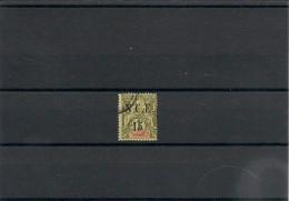NOUVELLE CALÉDONIE Années 1900/01  N°Y/T : 58 Oblitéré Côte: 33,00 € - Gebraucht