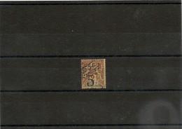 NOUVELLE CALÉDONIE Années  1900/01  N°Y/T : 54* Côte: 30,00 € - Unused Stamps