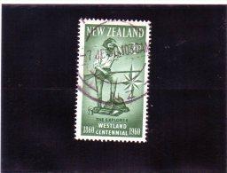 1960 Nuova Zelanda - Cent. Esporazione Del Westland - New Zealand