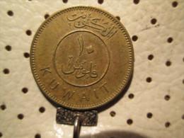 KUWAIT 10 Fils 1962  # 4 - Kuwait