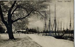RUSSIE - PERNAU - CPA - Pernau - Der Wall - Pärnu - Mer Baltique - Le Port - Russia