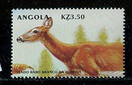 (cl.12 - P.4) Angola ** N° 1413 (ref. Michel Au Dos) - Cerf De Floride - - Angola