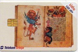 Telekom Srbja BD  Télécarte à Puce Phonecard  Karte (411) - Yougoslavie