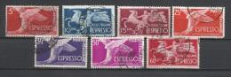 Italia. 1945-52_Caballo Alado Y Porta Llama. - 6. 1946-.. República