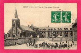 62 PAS-de-CALAIS BERCK-PLAGE, Les Préaux De L'Hôpital Cazin-Perrochaud, (L. Coutoisnon, Médaille D'Or 1906) - Berck