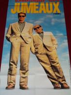 Affiche De Videoclub - Jumeaux (Schwarzenegger. Devito) - 157cm X 58cm - - Posters