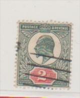 Grande Bretagne   //  N 109 --  2 Pence Vert Obl --  Côte 15 € - Usati
