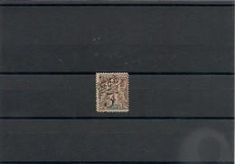NOUVELLE CALÉDONIE Année 1900/01  N°Y/T : 54** - Unused Stamps