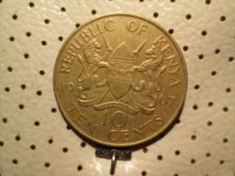 KENYA 10 Cents 1967  # 4 - Kenya