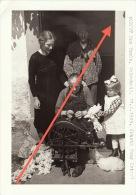 Photo Signée Grand Duché De Luxembourg Guerre 40-45 WWII Mme Pauls à Welscheid Avril 1945 - Guerre, Militaire