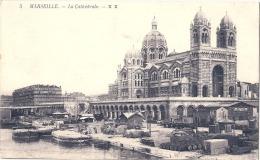 -13-  MARSEILLE - La Cathédrale   Neuve TTB - Joliette, Port Area