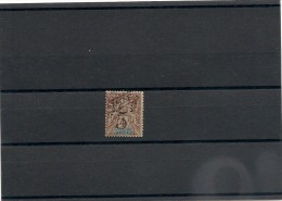 NOUVELLE CALÉDONIE Année 1900/01  N°Y/T : 54* - Unused Stamps