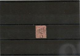 NOUVELLE CALÉDONIE Années 1892/93  N°Y/T : 37 Oblitéré - Gebraucht
