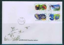 NORTH KOREA 2011 BIRDS FDC - Verzamelingen, Voorwerpen & Reeksen