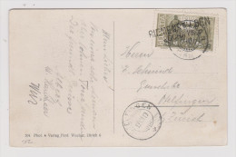 Heimat SZ Riemenstalden 1919-08-12 2-Zeiler-O K Kaiserstock - Lettres & Documents