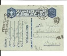 Carte Italie   Poste Militaire N° 17 ALBANIE   (199/200) - 1900-44 Victor Emmanuel III