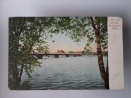 USA MASSACHUSETTS SPRINGFIELD OLD TOLL BRIDGE 1910 YEARS POSTCARD - Springfield