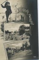 LYBIE - TRIPOLI - CPA - N°3818-EVVIVA TRIPOLI-Marché Du Vendredi à Tripoli-Tripoli De Barbarie, Une Rue Hors De La Ville - Libya