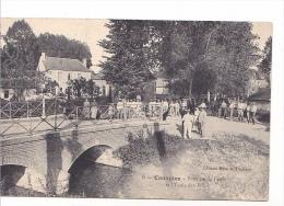 25498 Canaples 80 Le Pont Sur La Fieffe Et L'ecole Des Filles -5 Ed Mme Dumont