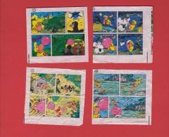 Lot De 4 Images Malabar N° 1, 12, 17, 30 - Confiserie & Biscuits