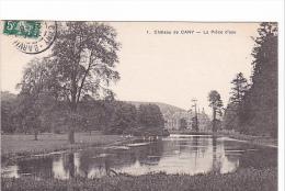 25499 Chateau De Cany (76) La Piece D'eau -ed Illisible ! - Cany Barville