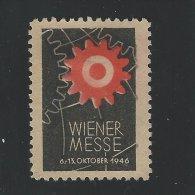 Wiener Messe  - 1946  T - 81 - Cinderellas