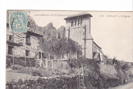 25536 15 CARLAT. L Eglise -280 Ed ? - France