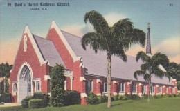 Florida Tampa Saint Paul's United Lutheran Church 1950