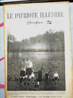 Le Patriote Illustré N°45 Du 08/11/1925 St-Josse-Ten-Noode Laeken Robermont Montaigu Evere Glashow Paris Daudet - Old Paper