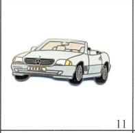 Pin´s - Automobile - Mercedes / Cabriolet 300 SL - Version Carrosserie Bicolore Beige. Non Estampillé. EGF. T410-11 - Mercedes