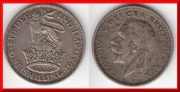 **** GRANDE-BRETAGNE - GREAT-BRITAIN - 1 SHILLING 1931 - ONE SHILLING 1931 GEORGE V - SILVER **** ACHAT IMMEDIAT !!! - 1902-1971 : Post-Victorian Coins