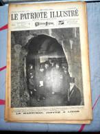 Le Patriote Illustré N°48 Du 29/11/1925 Gilly Liège Loncin Joffre Gand Moerkerke Berne Wander Tétouan Windsor - Old Paper
