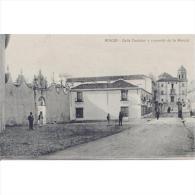 MLGTP1525CPA-LFTD10214.Tarjeta Postal De MALAGA.Edificios. CALLE CASTELAR Y Convento De LA MERCED En Ronda..Mala - Edificios & Arquitectura
