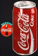 AUTO COLLANT  COCA COLA - Lot De 3 - Bouteille Et Canette - Coca-Cola