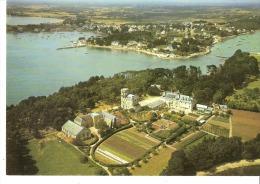 Ile Berder En Larmor-Baden (Vannes-Morbihan)-Vue Aérienne- Château-Tour-Ancien établissement Saint-Joseph - Larmor-Plage