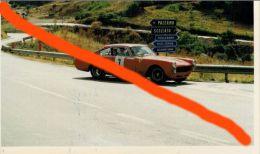 SPORT AUTOMOBILISMO TARGA FLORIO AUTOSTORICHE 93 RIGHI - GRAZIA FERRARI 250 GTE (7) 10X15 COLORI - Sport