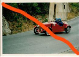 X SPORT AUTOMOBILISMO TARGA FLORIO AUTOSTORICHE 93 FEDERICO - EDER FIAT SIATA 508 CS (92) 10X15 COLORI - Sport