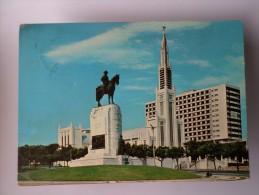 AFRICA AFRIKA AFRIQUE MOZAMBIQUE MOÇAMBIQUE LOURENÇO MARQUES MOUZINHO DE ALBUQUERQUE MONUMENT 1960 YEARS POSTCARD - Mozambique