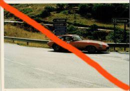 X SPORT AUTOMOBILISMO TARGA FLORIO AUTOSTORICHE 93 Fini - Rinaldi Jaguar E Type (6) 10X15 COLORI - Sport