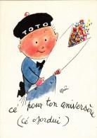 Dessin De Guérin- Toto  - Cé Pour Ton Aniversère ( Cé Ojordui ) - Otros Ilustradores