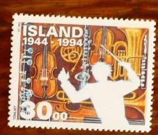 ISLAND Musique, Instruments De Musique Yvert N°755 ** Neuf Sans Charniere. MNH/ Violon, Saxophone, Clarinette - Muziek