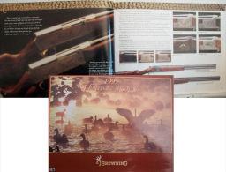 TRES BEAU CATALOGUE ARMES BROWNING 1995 HUNTING AND SHOOTING - Catálogos