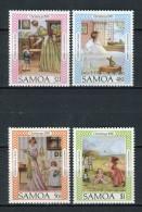 Samoa 1985. Yvert 593-96 ** MNH. - Samoa