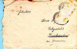 Frauenstein Im Erzgebirge - Brief Mit Inhalt - Frauenstein (Erzgeb.)