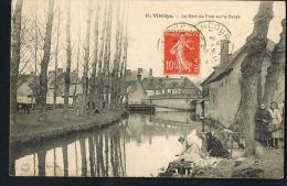 VIBRAYE -72- Le Bout Du Pont Sur La Braye- Blanchiseuses  PAYPAL SANS FRAIS - Vibraye