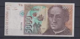 EDIFIL E10. 5000 PTAS 12 DE OCTUBRE DE 1992 - [ 4] 1975-…: Juan Carlos I.