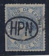 ESPAÑA 1868/69 - Edifil #97 Gobierno Provisional/Teruel - VFU - 1868-70 Gobierno Provisional