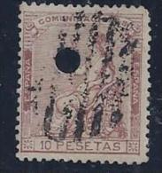 ESPAÑA 1873 - Edifil #139T Taladrado - VFU - Nuevos