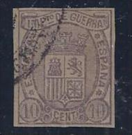 ESPAÑA  1875 - Edifil #154 - VFU - Impuestos De Guerra